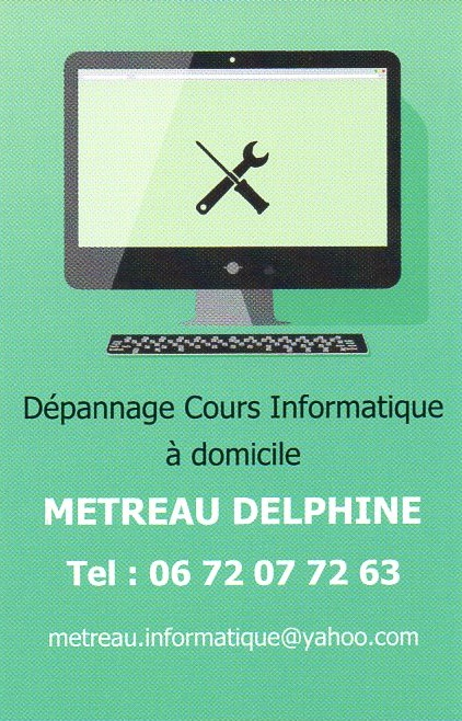 Delphine METREAU - Informatique